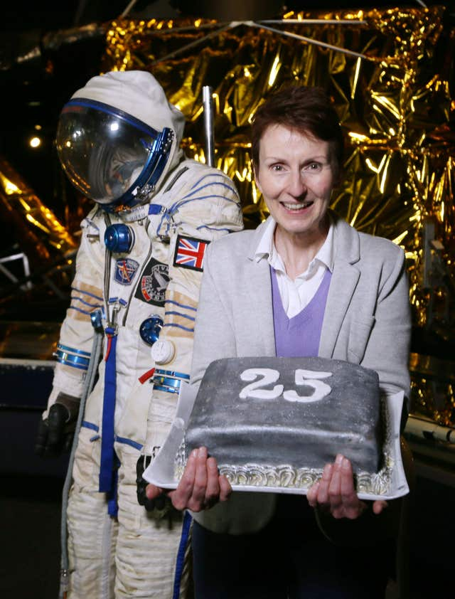 25th anniversary of Helen Sharman's journey into space