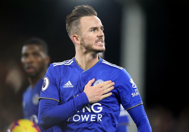 James Maddison levelled for Leicester