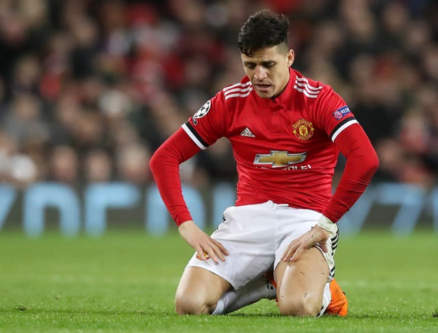 Sanchez cut a frustrated figure at Old Trafford