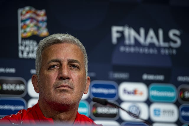 Switzerland boss Vladimir Petkovic