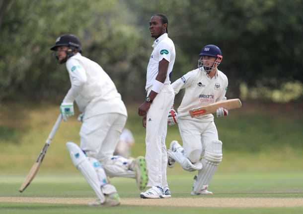 Jofra Archer struggled to make an impact on day two