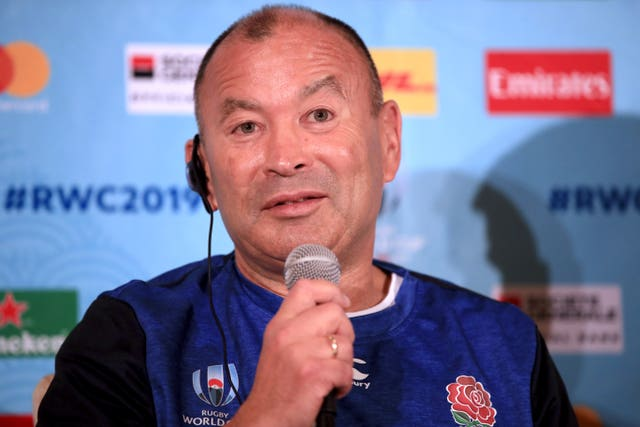 Eddie Jones has two years left on his England contract
