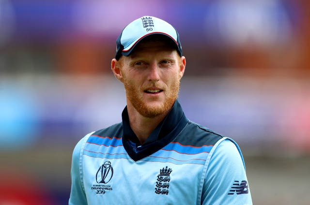 Ben Stokes appeared to be moving uncomfortably