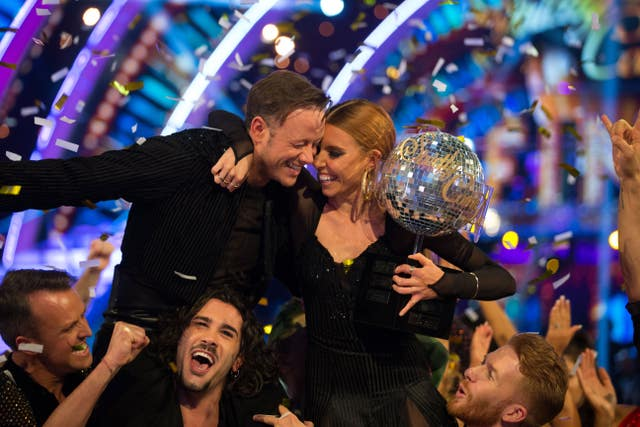 Strictly Come Dancing 2018 winners Kevin Clifton and Stacey Dooley
