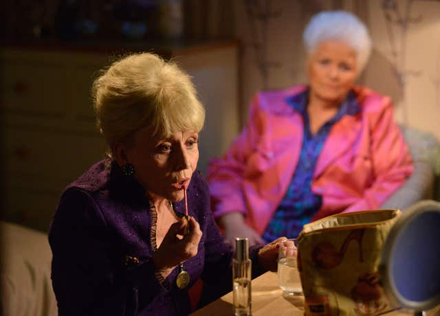 Peggy and Pat in EastEnders