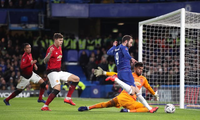 Chelsea's FA Cup defeat to Manchester United on Monday night was the first of three matches in seven days for the Blues