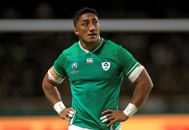 Bundee Aki was sent off against Samoa