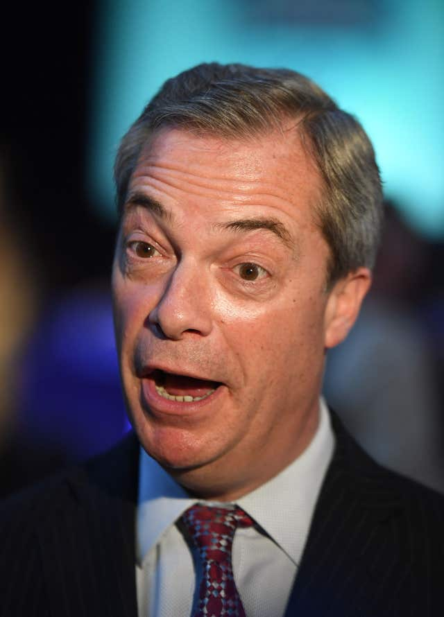 Jo Marney compared former Ukip leader Nigel Farage's personal life to Henry Bolton's (Victoria Jones/PA)