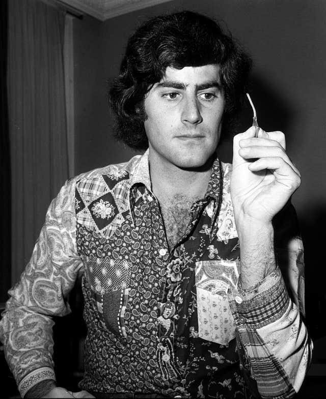 Illusionist Uri Geller back in 1973