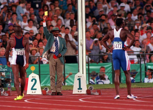 OLYMPICS Linford Christie