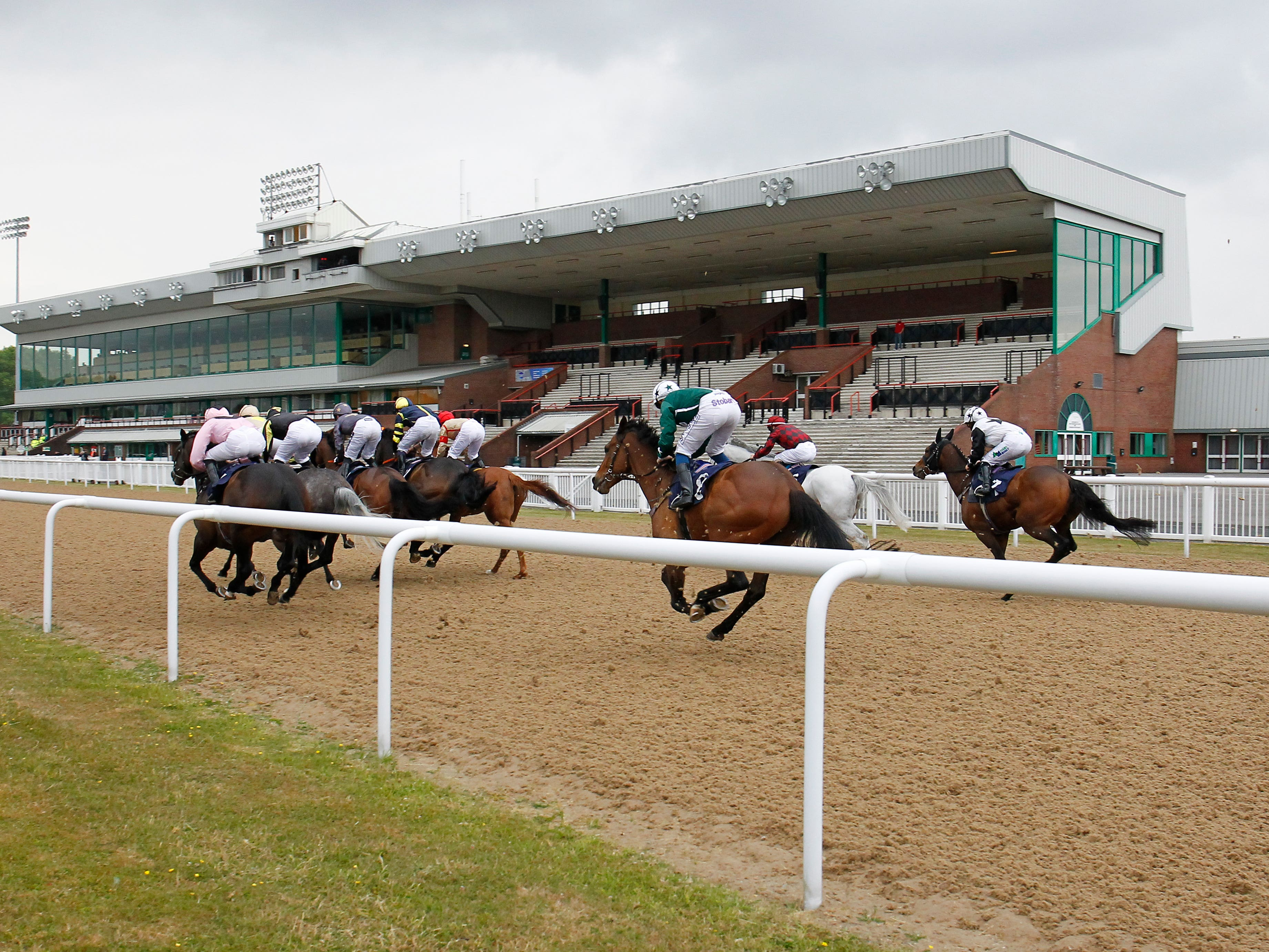 Racing has been going ahead behind closed doors since June 1 (Steve Davies/PA)