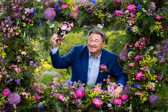 Alan Titchmarsh has spoken of the power of gardens (Danny Lawson/PA)