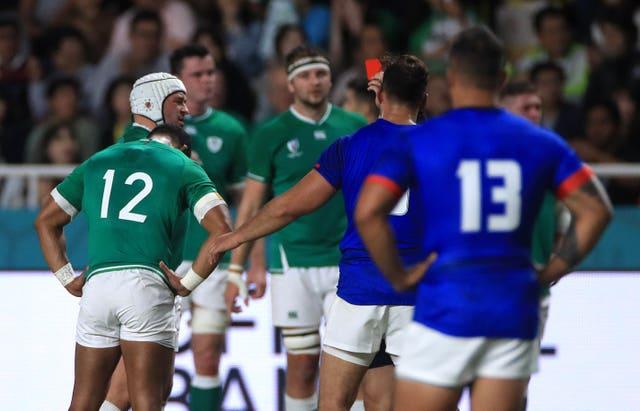 Ireland v Samoa – Pool A – 2019 Rugby World Cup – Fukuoka Hakatanomori Stadium