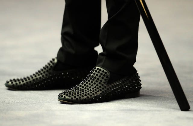 Judd Trump's shoes
