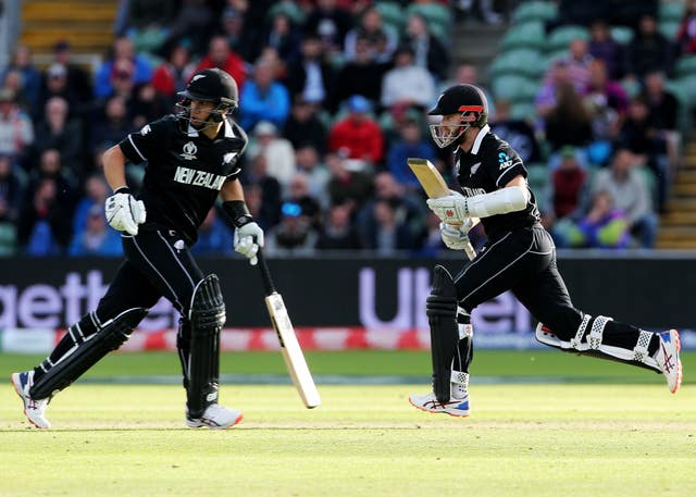 Williamson and Ross Taylor were part of the New Zealand side beaten in the 2015 World Cup final (Mark Kerton/PA)