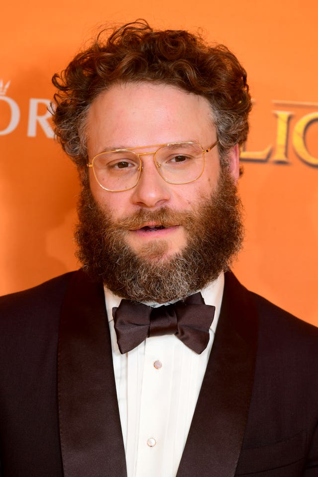 Seth Rogen plays Pumbaa in the film