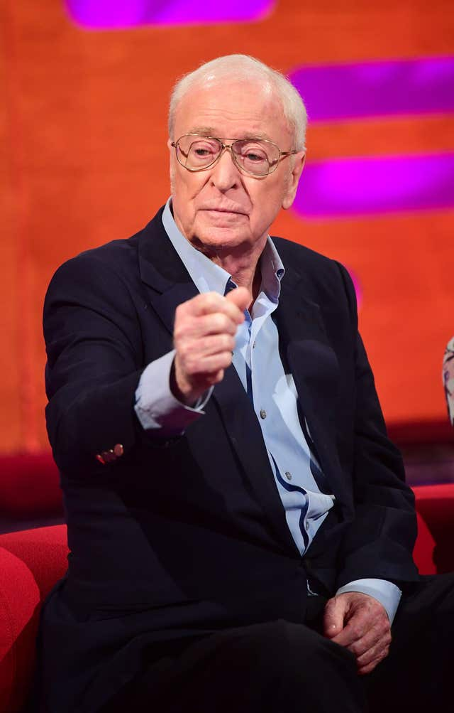 He said Sir Michael Caine could 'age up' for the role