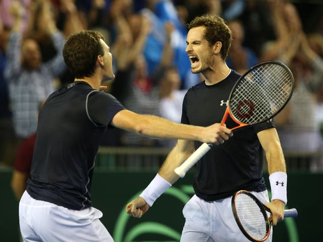 Jamie Murray picked the Davis Cup victory over Australia in 2015 alongside Andy as one of his favourite memories