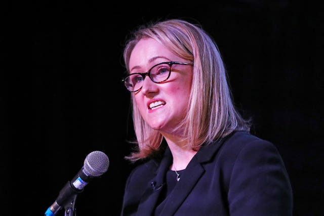 Labour leadership candidate Rebecca Long-Bailey