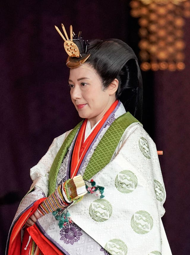 Japanese Enthronement