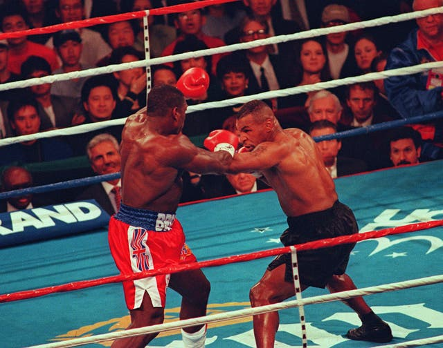 Boxing – WBC Heavyweight Title – Mike Tyson v Frank Bruno – MGM Grand, Las Vegas