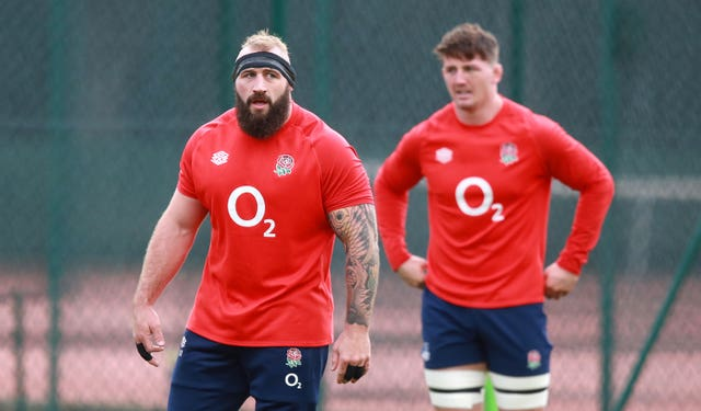 Joe Marler, let, has been left out