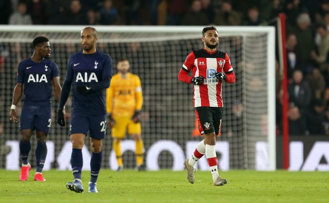 Boufal, right, earned a replay for Southampton