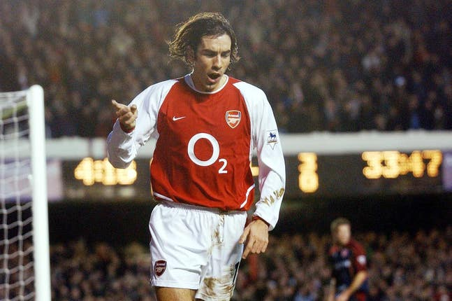 Robert Pires won two Premier League titles and two FA Cups at Arsenal.