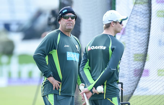 Lehmann quit his post while Smith (right) is among those to have returned for Australia