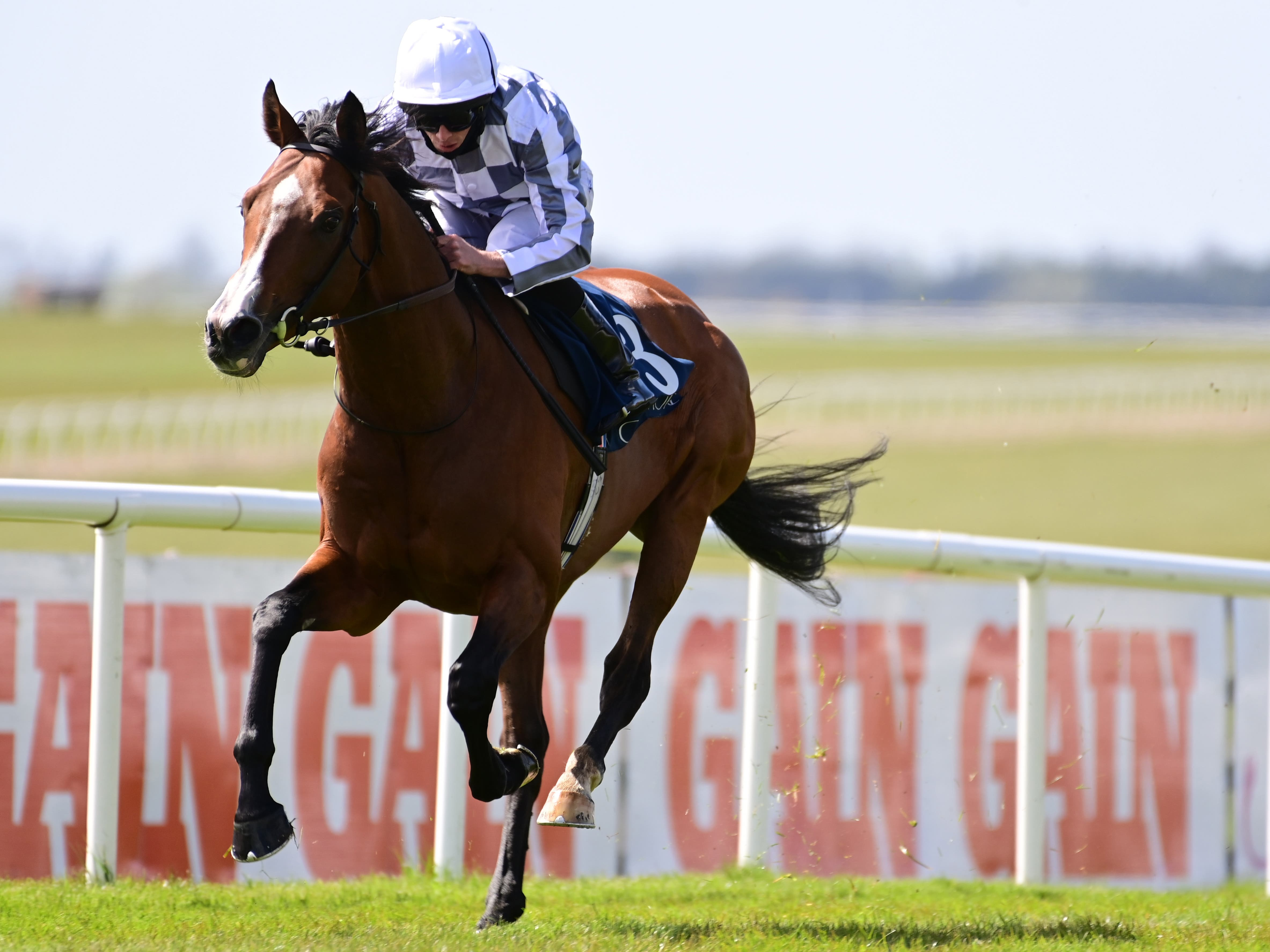 Broome was a cosy winner at the Curragh (PA)