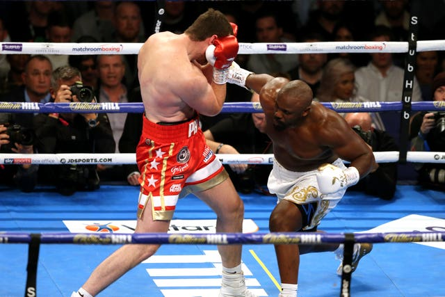 Dereck Chisora, right, beat David Price last time out (Paul Harding/PA)