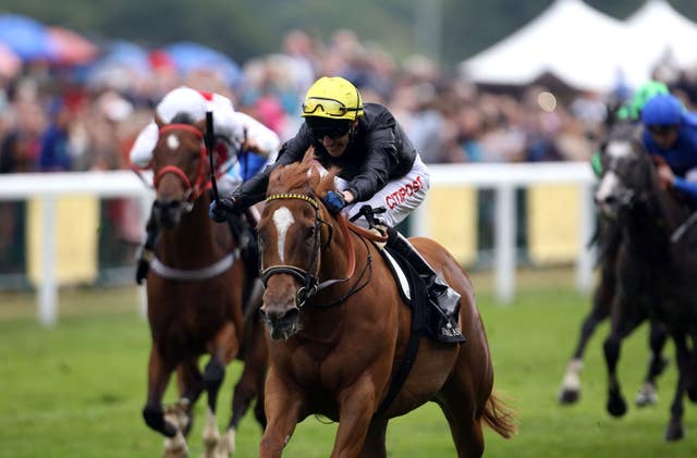Interception was a Royal Ascot winner for David Lanigan in 2015