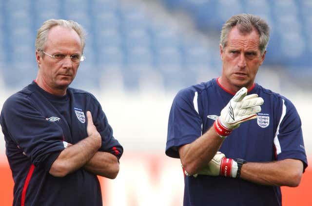 Ray Clemence was England goalkeeping coach for a period