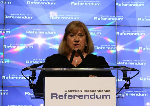 Mary Pitcaithly, chief counting officer for the Scottish referendum, is among the new appointees (Andrew Milligan/PA)