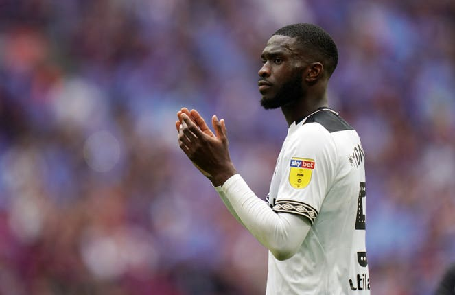 Fikayo Tomori impressed for Derby last season in the Championship