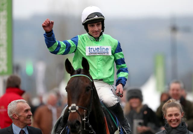 Brian Hughes is a real threat to Richard Johnson in the jockeys' title race this season
