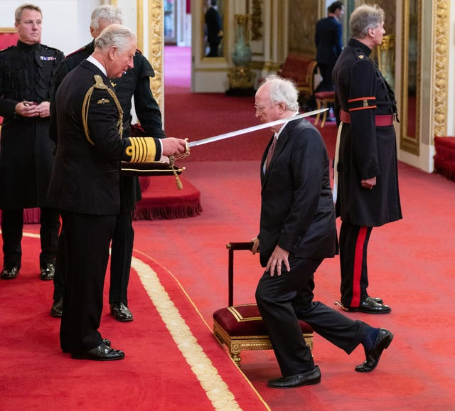 Sir Philip Pullman is made a Knight Bachelor of the British Empire