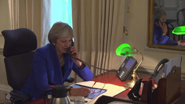 Theresa May on Panorama