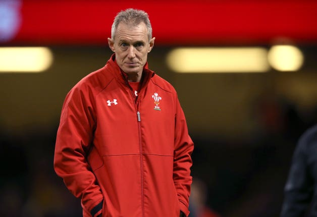 Wales assistant coach Rob Howley has been sent home from the tournament (Paul Harding/PA).