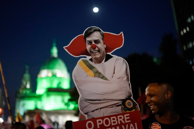 Brazil pensions strike