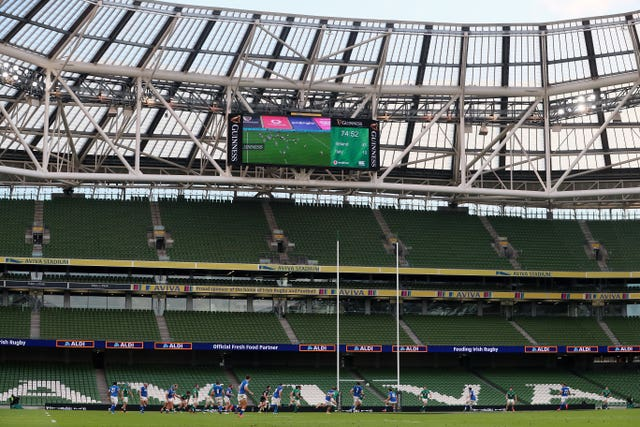 Ireland v Italy – 6 Nations – Aviva Stadium