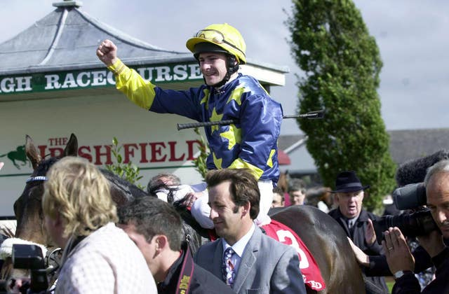 Vinne Roe and Pat Smullen were unstoppable in the Irish St Leger