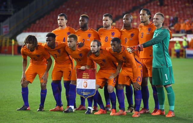 Holland and Liverpool defender Virgil Van Dijk misses out through injury