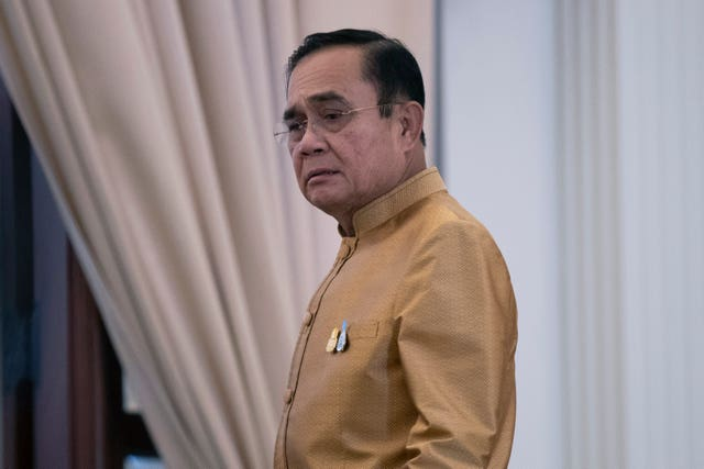 Thailand's prime minister Prayuth Chan-ocha will stay in power (Sakchai Lalit/AP)