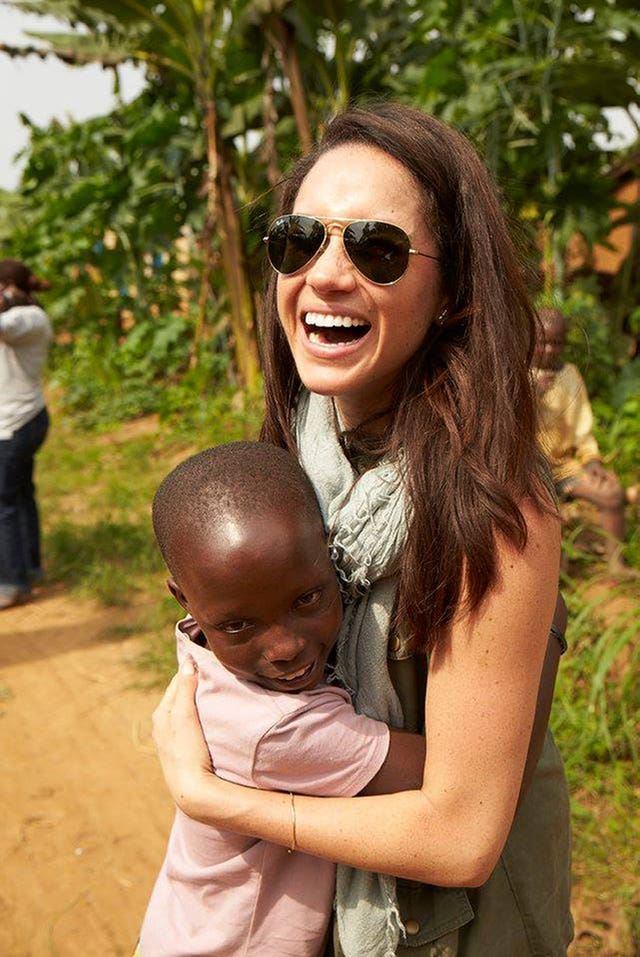 Meghan has been involved in charity work for many years (World Vision/PA)