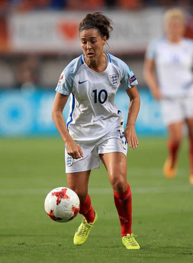 Williams during the 2017 UEFA Women's Euros