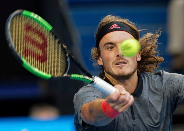 Stefanos Tsitsipas stands out from the crowd
