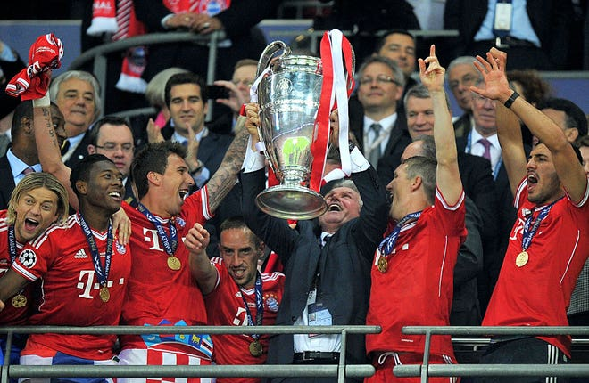 Bayern Munich won the Champions League the last time the final was held in London in 2023