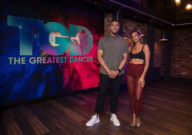 Jordan Banjo and Alesha Dixon