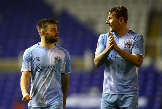 Coventry City v Birmingham City – FA Cup – Fourth Round – St Andrew's Trillion Trophy Stadium